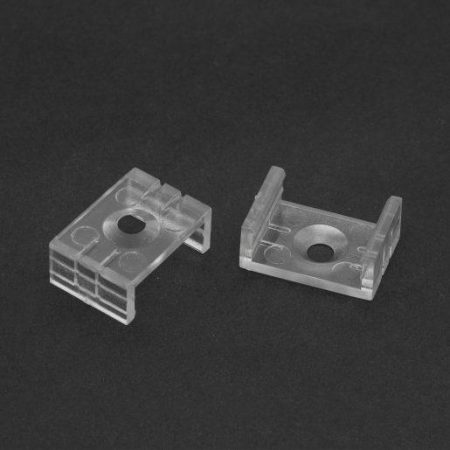 Nosilec za nadgradni LED profil 41010 17x8mm 2 kosa