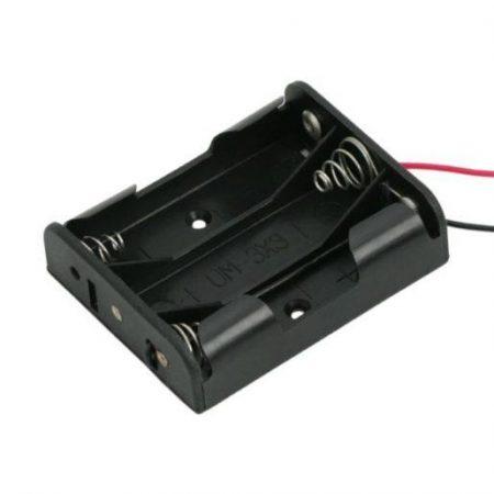 Ohišje za baterije 3xAA