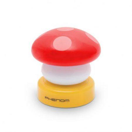 Otroška baterijska svetilka v obliki gobe rdeča