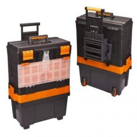 Plastični kovček za orodje na kolesih