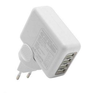 Potovalni USB polnilec z mednarodnimi priklopi