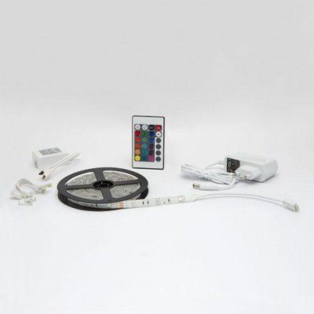RGB LED trak 3m 5050 s kontrolerjem in napajalnikom