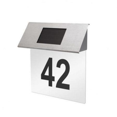 Solarna svetilka za hišno številko