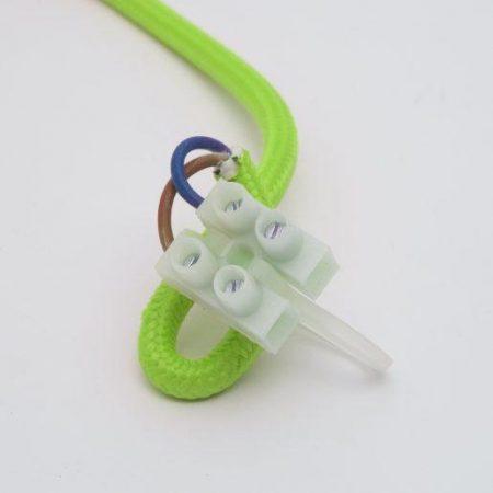 Stropna silikonska svetilka E27 zelena