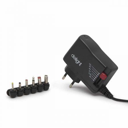 Univerzalni AC / DC adapter - 3-12V • 2,5A • 30W • 6 konektorjev