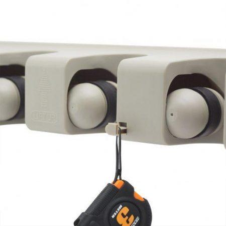2x univerzalni PVC stenski nosilec