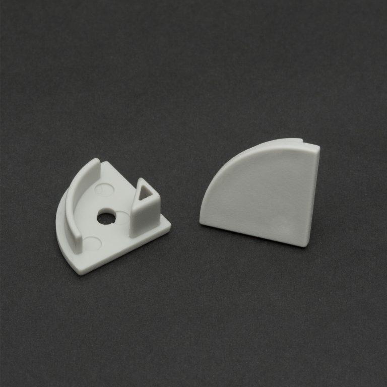 Zatič za kotni LED profil