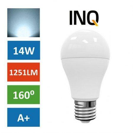 LED žarnica - sijalka E27 14W (115W) hladno bela 6000K INQ