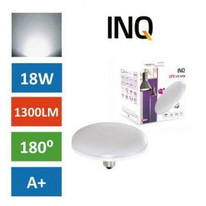 LED žarnica - sijalka E27 UFO 18W (120W) nevtralno bela 4000K INQ