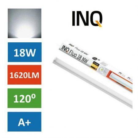 Podelementna LED cevna svetilka 18W IP44 nevtralno bela 4000K