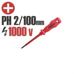 Izvijač PH2 100mm izoliran