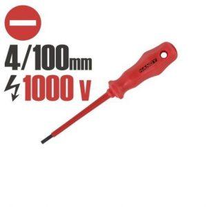 Izvijač ploščati 100mm izoliran