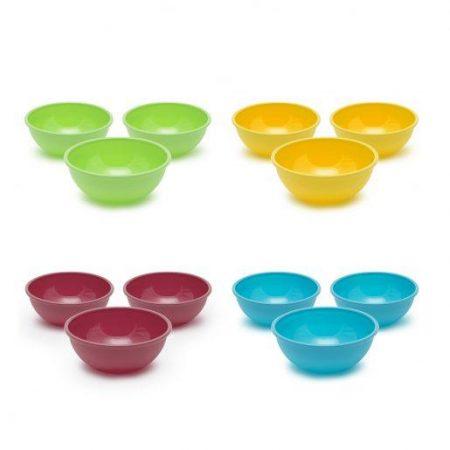 Plastične posodice več barv 3 kos