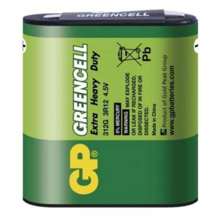 Baterija GP GREENCELL 3R12 blister