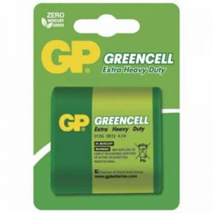 Baterija GP GREENCELL 3R12 blister