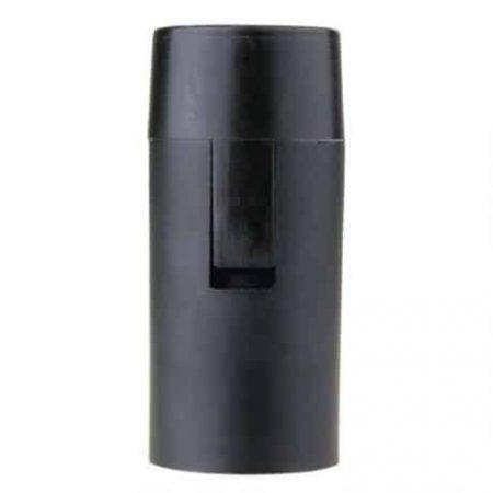 Grlo E14 plastično črno