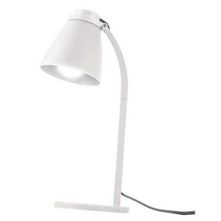 Namizna svetilka LOLLI s 6W LED sijalko E14 NW bela