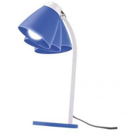 Namizna svetilka LOLLI s 6W LED sijalko E14 NW modra