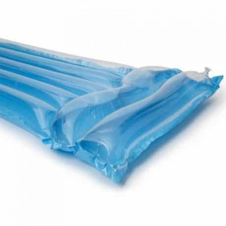 Napihljiva blazina 183x76cm modra