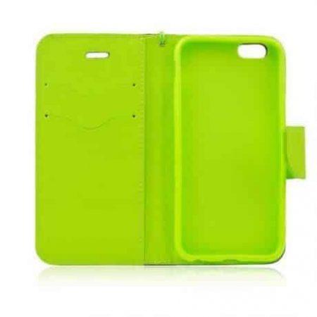 Preklopni etui za HUAWEI P10 modro-zelen (limeta)