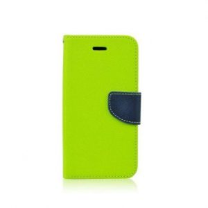 Preklopni etui za Samsung  Galaxy S5 Mini (G800) zeleno (limeta)-moder