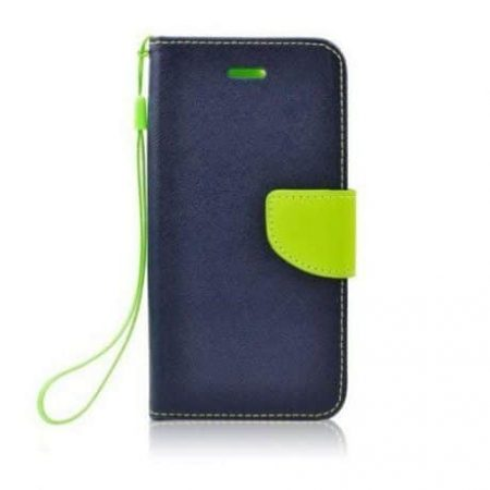 Preklopni etui za Samsung Galaxy S6 EDGE modro-zelen (limeta)