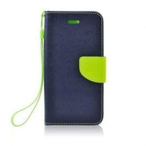 Preklopni etui za Samsung  Galaxy S6 modro-zelen (limeta)