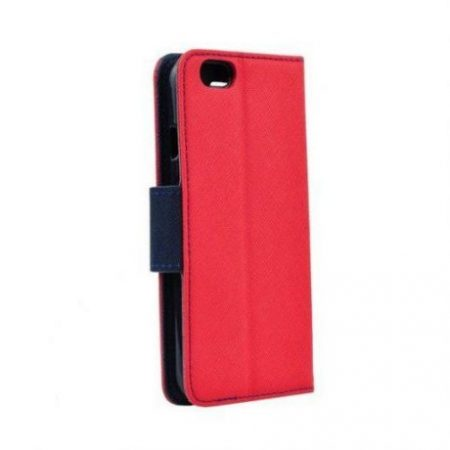 Preklopni etui za Samsung Galaxy S8 Plus rdeče-moder