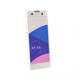 360° silikonski ovitek za Sony Xperia XA prozoren