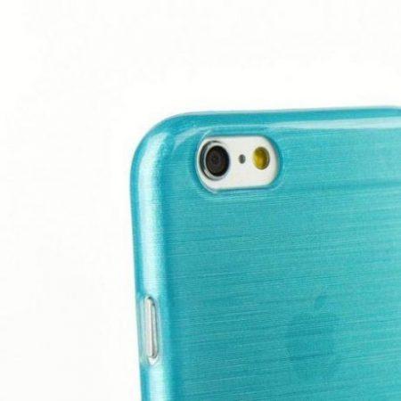 Barvni silikonski ovitek za  Huawei P8 moder