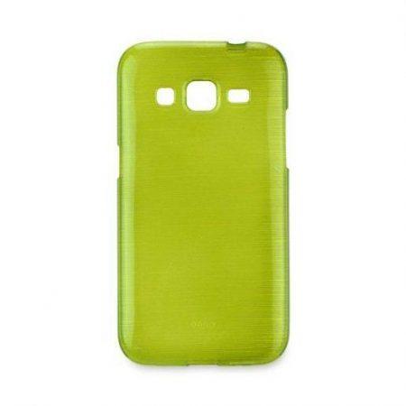 Barvni silikonski ovitek za Samsung Galaxy Core Prime (G360) zelen