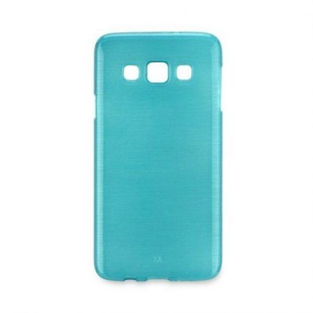 Barvni silikonski ovitek za  Samsung Galaxy S7 (G930) moder