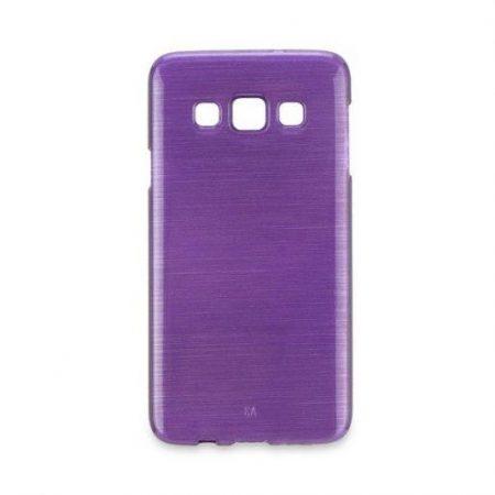 Barvni silikonski ovitek za Samsung Galaxy S7 (G930) vijoličen