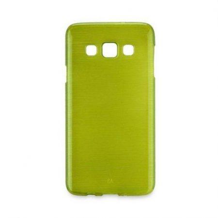 Barvni silikonski ovitek za Samsung Galaxy S7 (G930) zelen