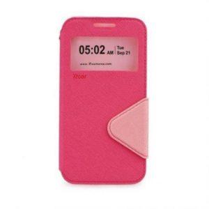 Preklopni ovitek z okencem za  Apple Iphone 7 PLUS pink