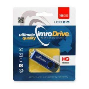 Kovinski USB ključ 16 GB Axis moder