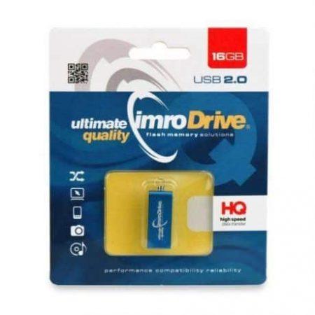 Kovinski USB ključ 16 GB moder