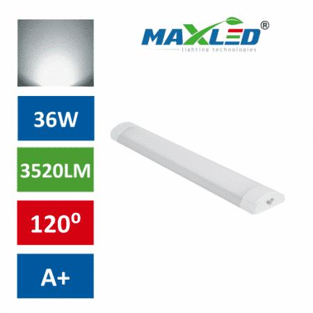 LED podelementna svetilka ALU 36W nevtralno bela 4000K