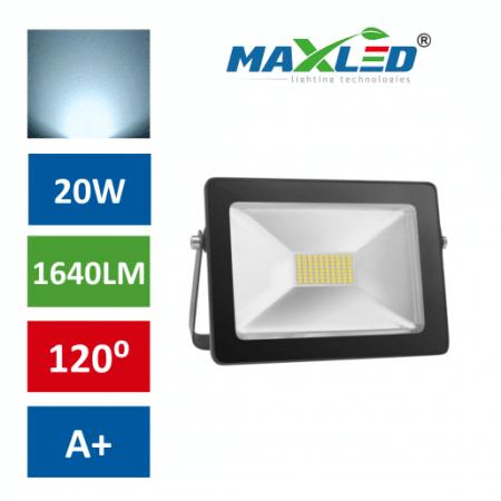 LED reflektor SMD SLIM 20W hladno beli 6000K