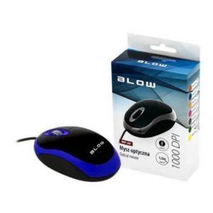 Računalniška USB optična miška BLOW modra