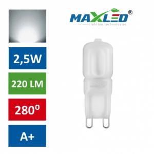 LED žarnica - sijalka G9 1:1 2,5W (21W) nevtralno bela 4500K