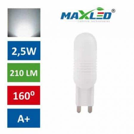 LED žarnica - sijalka G9 2,5W (21W) nevtralno bela 4500K