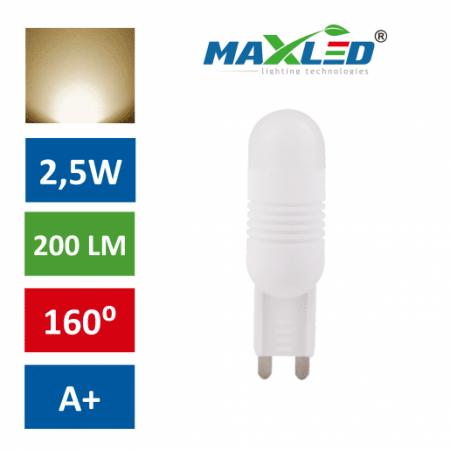 LED žarnica - sijalka G9 2,5W (21W) toplo bela 3000K