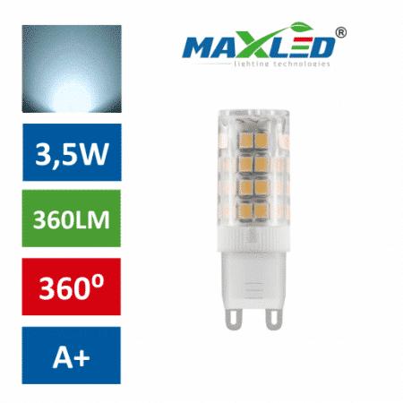LED žarnica - sijalka G9 3,5W (25W) hladno bela 60000K