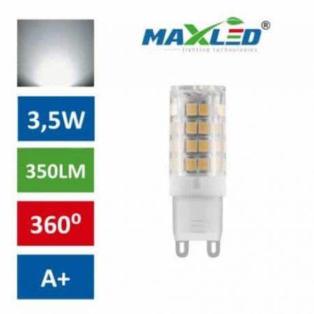 LED žarnica - sijalka G9 3,5W (25W) nevtralno bela 4500K