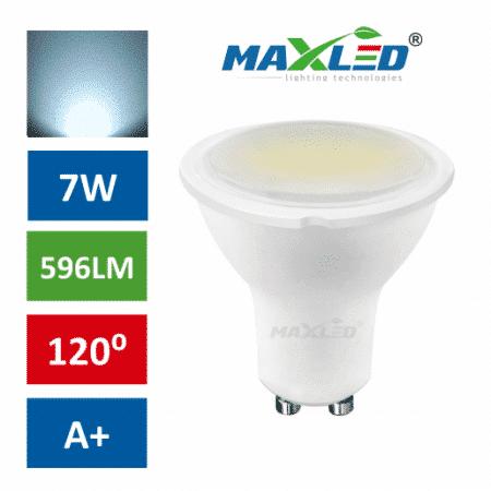 LED žarnica - sijalka GU10 7W (55W) hladno bela 6000K