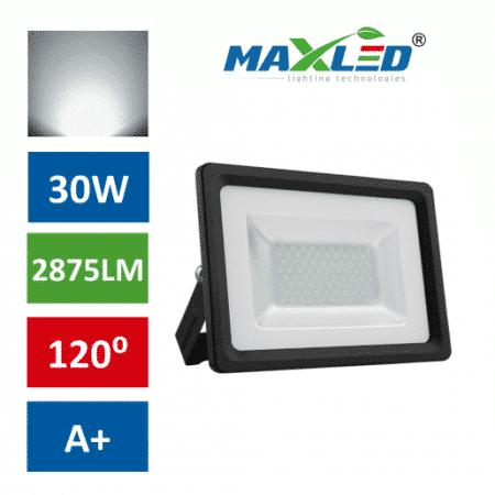 LED reflektor SMD FLOW 30W nevtralno beli 4500K 38mm