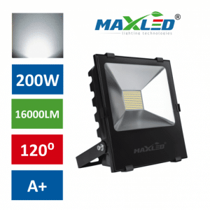 PRO LED reflektor SMD 200W nevtralno beli 4500K
