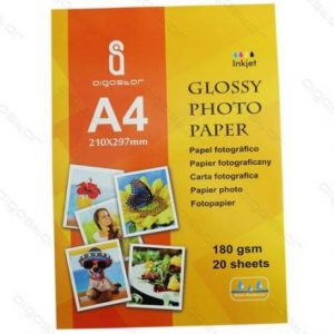 Foto papir A4 (210x297mm) 180g 20 kos