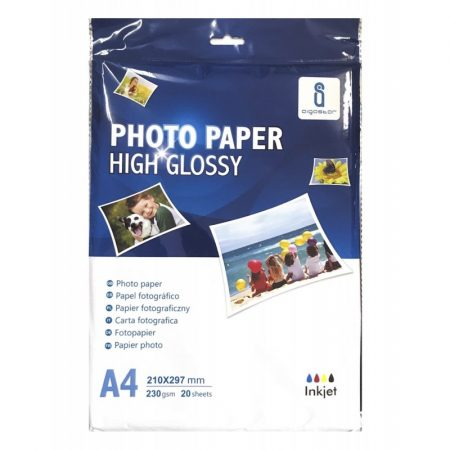 Foto papir A4 (210x297mm) 230g 20 kos